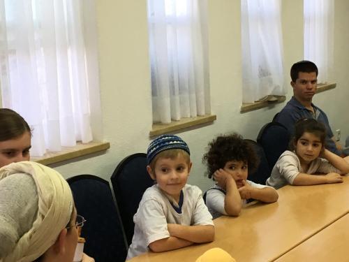 פעילויות בבית הכנסת בחול המועד סוכות תשע``ח